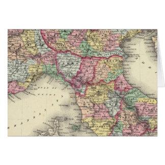 Italia septentrional tarjeta de felicitación