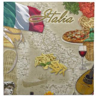 Italia Servilletas Imprimidas