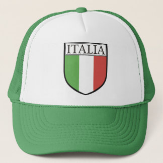 Italia Shield Hat / Italy Flag Cap