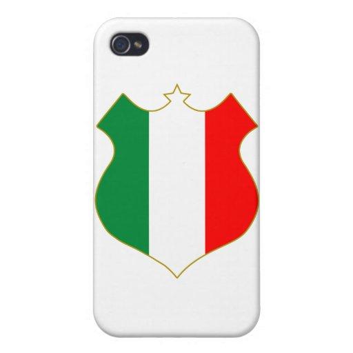 Italia-shield.png iPhone 4/4S Fundas