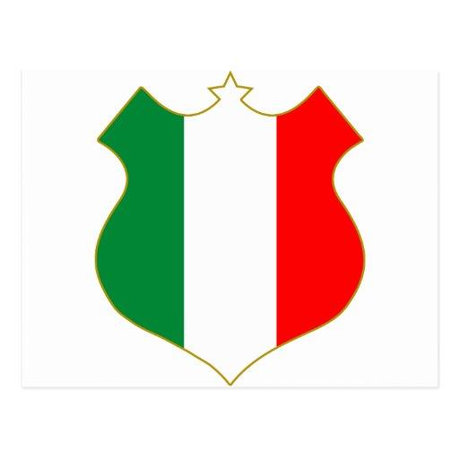 Italia-shield.png Tarjeta Postal