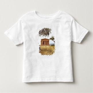 Italia, Sicilia, Agrigento. Las ruinas de los 2 Remera