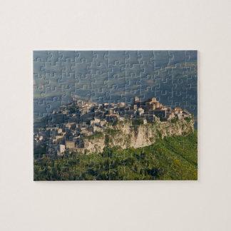 Italia, Sicilia, Enna, Calascibetta, opinión 2 de  Puzzle