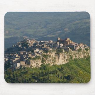 Italia, Sicilia, Enna, Calascibetta, opinión 2 de  Tapetes De Raton