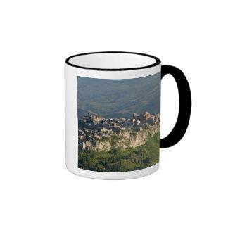 Italia, Sicilia, Enna, Calascibetta, opinión 2 de  Taza De Café