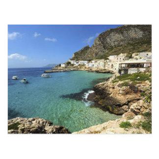 Italia, Sicilia, islas de Egadi, Levanzo, Postal