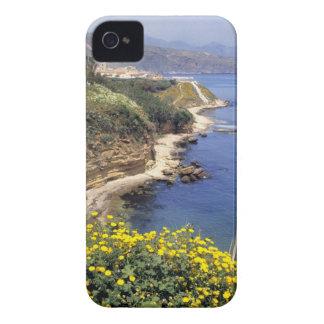 Italia, Sicilia. La costa del norte de Sicilia ade iPhone 4 Case-Mate Coberturas