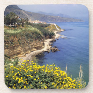 Italia, Sicilia. La costa del norte de Sicilia ade Portavasos