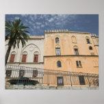 Italia, Sicilia, Palermo, dei Normanni de Palazzo Poster