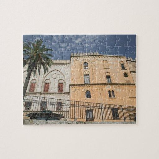Italia, Sicilia, Palermo, dei Normanni de Palazzo Rompecabezas
