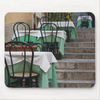 ITALIA, Sicilia, TAORMINA: Corso Umberto 1, café Alfombrillas De Raton