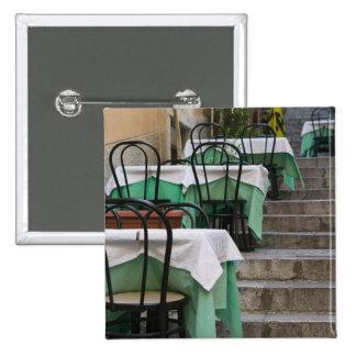 ITALIA, Sicilia, TAORMINA: Corso Umberto 1, café Pin Cuadrada 5 Cm