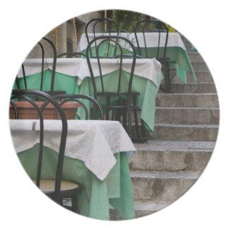 ITALIA, Sicilia, TAORMINA: Corso Umberto 1, café Plato De Cena