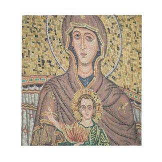 ITALIA, Sicilia, TAORMINA: Corso Umberto 1, mosaic Blocs De Notas