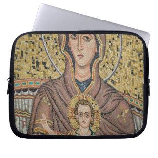 ITALIA, Sicilia, TAORMINA: Corso Umberto 1, mosaic Manga Portátil