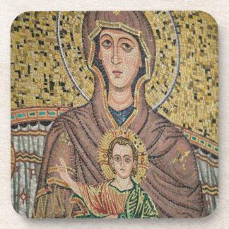 ITALIA, Sicilia, TAORMINA: Corso Umberto 1, mosaic Posavasos