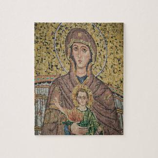 ITALIA, Sicilia, TAORMINA: Corso Umberto 1, mosaic Rompecabezas