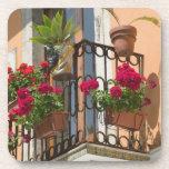 ITALIA, Sicilia, TAORMINA: Corso Umberto 1, Posavasos