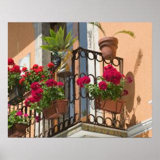 ITALIA, Sicilia, TAORMINA: Corso Umberto 1, Póster