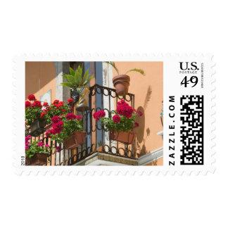 ITALIA, Sicilia, TAORMINA: Corso Umberto 1, Sellos Postales