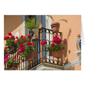 ITALIA, Sicilia, TAORMINA: Corso Umberto 1, Tarjeta De Felicitación