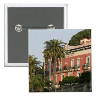 ITALIA, Sicilia, TAORMINA: Hotel Schuler Pin Cuadrada 5 Cm