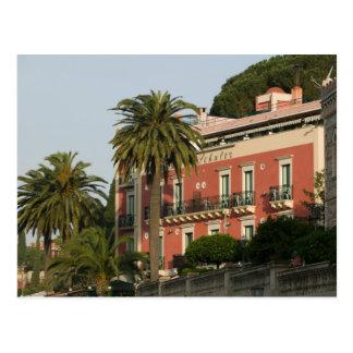 ITALIA, Sicilia, TAORMINA: Hotel Schuler Tarjeta Postal