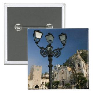 ITALIA, Sicilia, TAORMINA: Plaza IX Aprile, San Pin Cuadrada 5 Cm