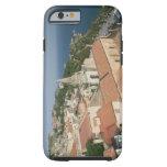ITALIA, Sicilia, TAORMINA: Vea hacia la plaza IX Funda De iPhone 6 Tough