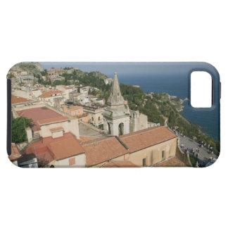 ITALIA, Sicilia, TAORMINA: Vea hacia la plaza IX Funda Para iPhone 5 Tough