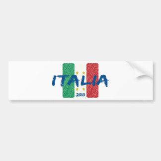 Italia soccer 2010 car bumper sticker