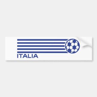 Italia Soccer Car Bumper Sticker