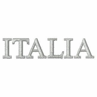 Italia soccer calcio flag of Italy Italia map top Embroidered Track Jacket