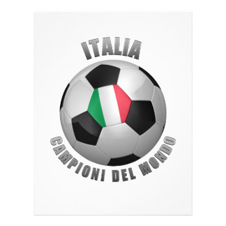 ITALIA SOCCER CHAMPIONS FLYER