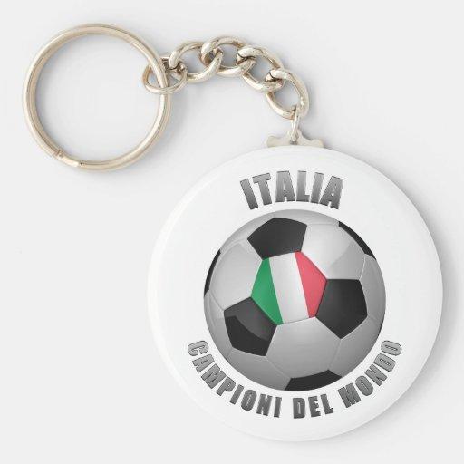 ITALIA SOCCER CHAMPIONS KEY CHAIN