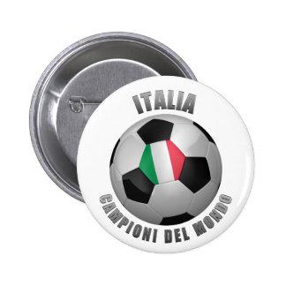 ITALIA SOCCER CHAMPIONS PINS