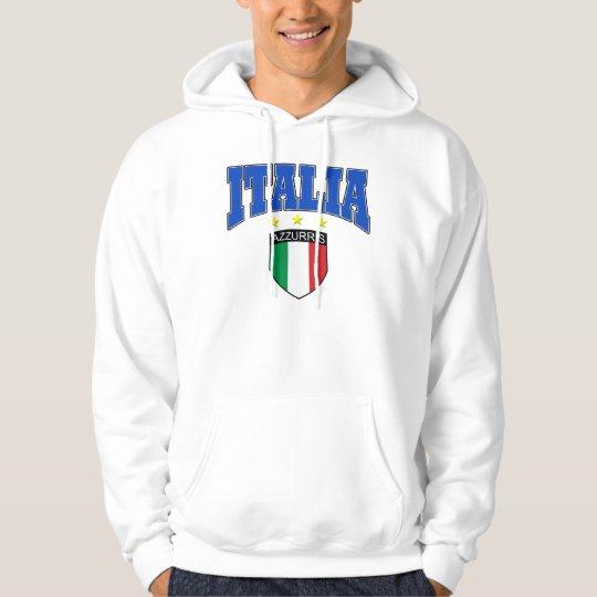 Italia soccer design hoodie