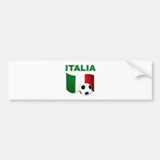 italia soccer football world cup 2010 bumper sticker