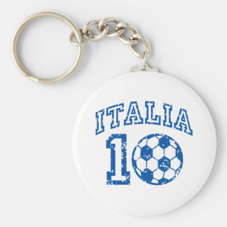 Italia Soccer Keychain