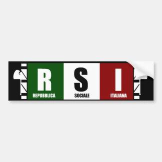 ITALIA SOCIALE PEGATINA PARA AUTO
