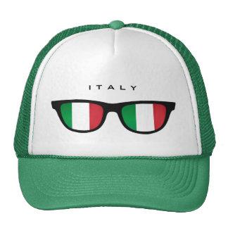 Italia sombrea el gorra de encargo
