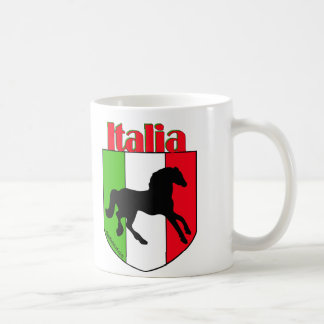 Italia Stallion Crest Coffee Mug
