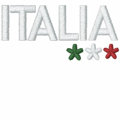 Italia Sudadera Bordada