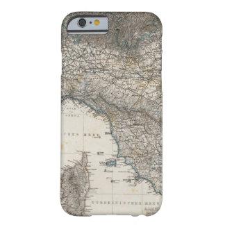 Italia superior y central funda de iPhone 6 barely there