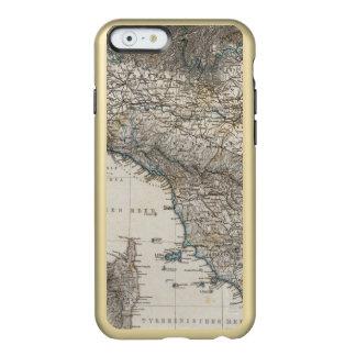 Italia superior y central funda para iPhone 6 plus incipio feather shine