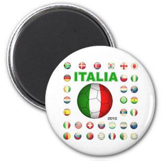 Italia T-Shirt d7 Fridge Magnet
