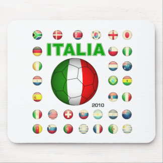 Italia T-Shirt d7 Mousepad