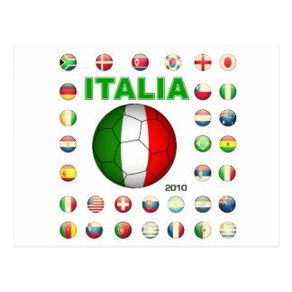 Italia T-Shirt d7 Post Cards