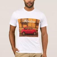 Italia T-Shirt - Vintage Fiat 500