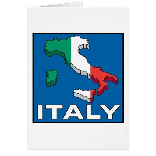 Italia Tarjeta De Felicitación
